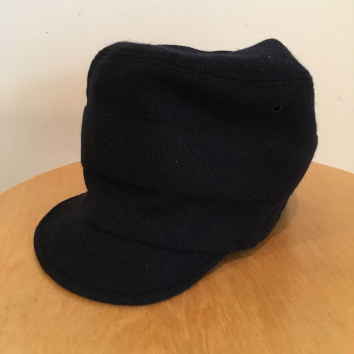 Phatee LABORATORY - NEW CAP RECYCLED WOOL / NAVY (SAMPLE)の画像