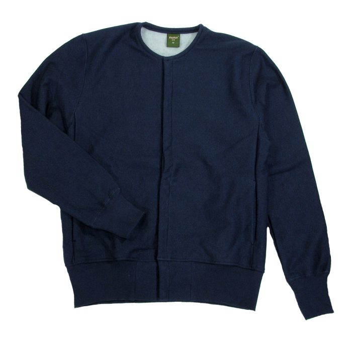 Phatee - SNAP CARDIGAN HEMP2020 / NAVY (OFFICIAL SHOP LIMITED)画像