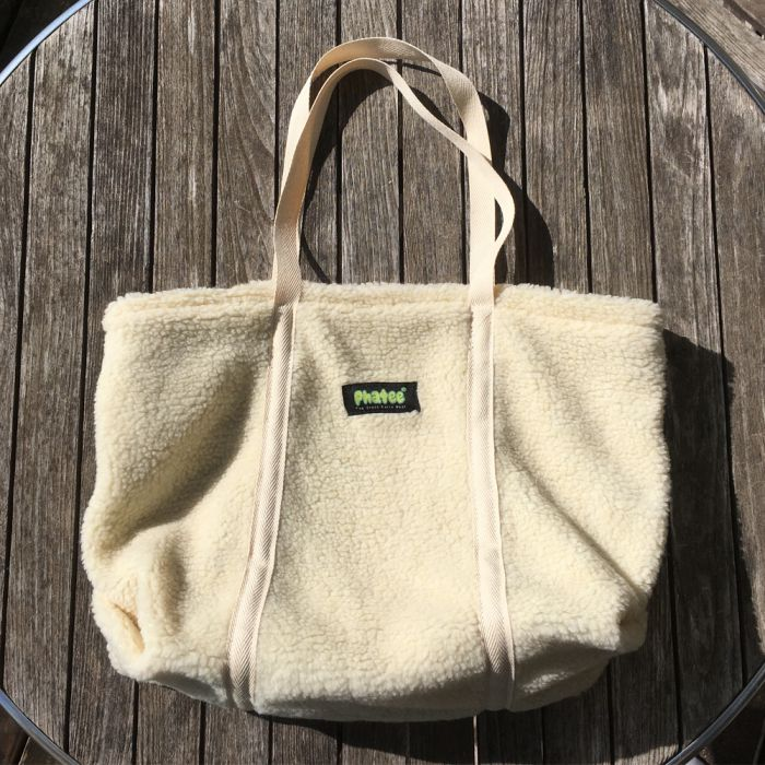 Phatee LABORATORY - BOA TOTE BAG / NATURAL (SAMPLE)画像
