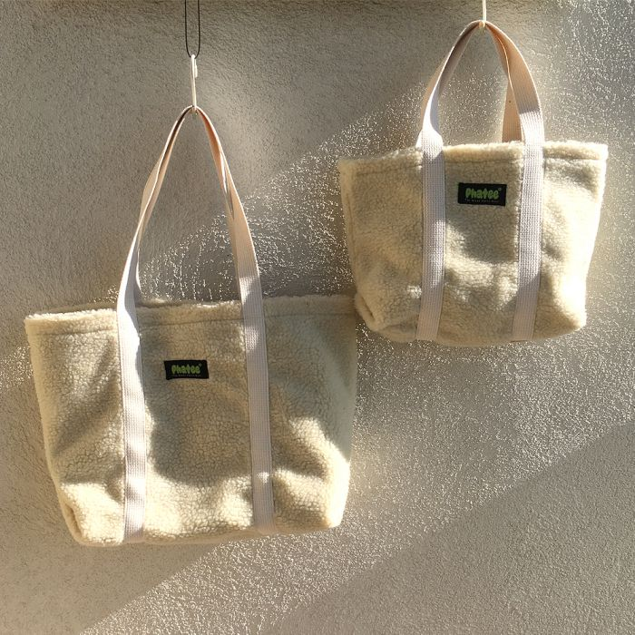 Phatee - TOTE BAG / NATURAL (OFFICIAL SHOP LIMITED)画像