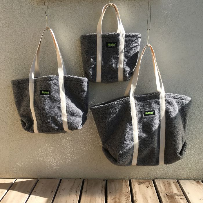 Phatee - TOTE BAG / GREY (OFFICIAL SHOP LIMITED)画像