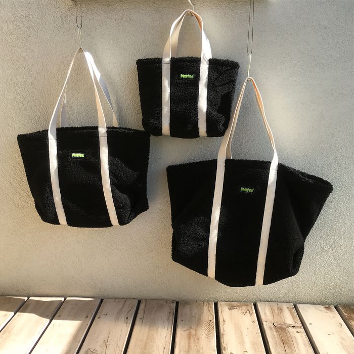 Phatee - TOTE BAG / BLACK (OFFICIAL SHOP LIMITED)画像