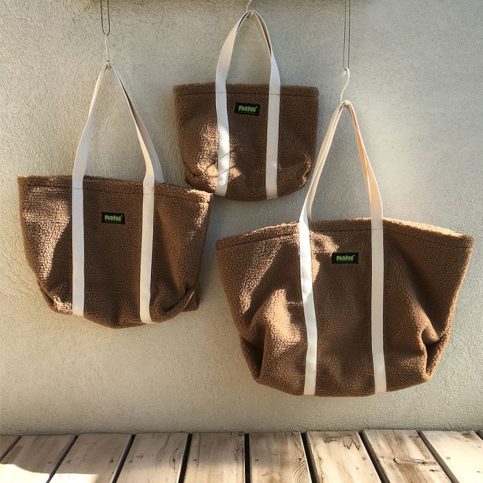Phatee - TOTE BAG / BEIGE (OFFICIAL SHOP LIMITED)画像