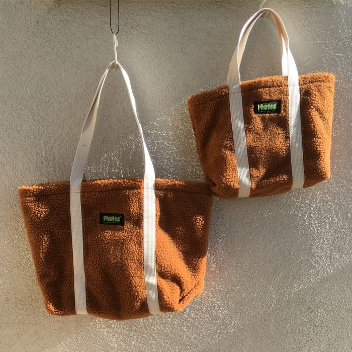 Phatee - TOTE BAG / ORANGE (OFFICIAL SHOP LIMITED)画像