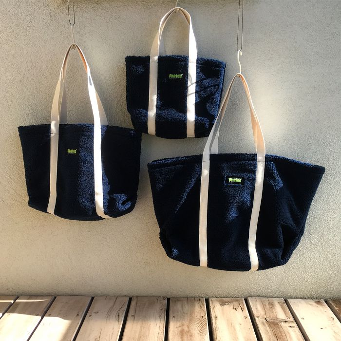 Phatee - TOTE BAG / NAVY (OFFICIAL SHOP LIMITED)画像