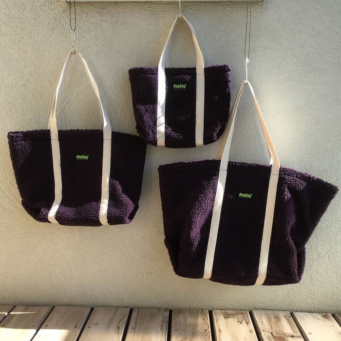 Phatee - TOTE BAG / PURPLE (OFFICIAL SHOP LIMITED)画像