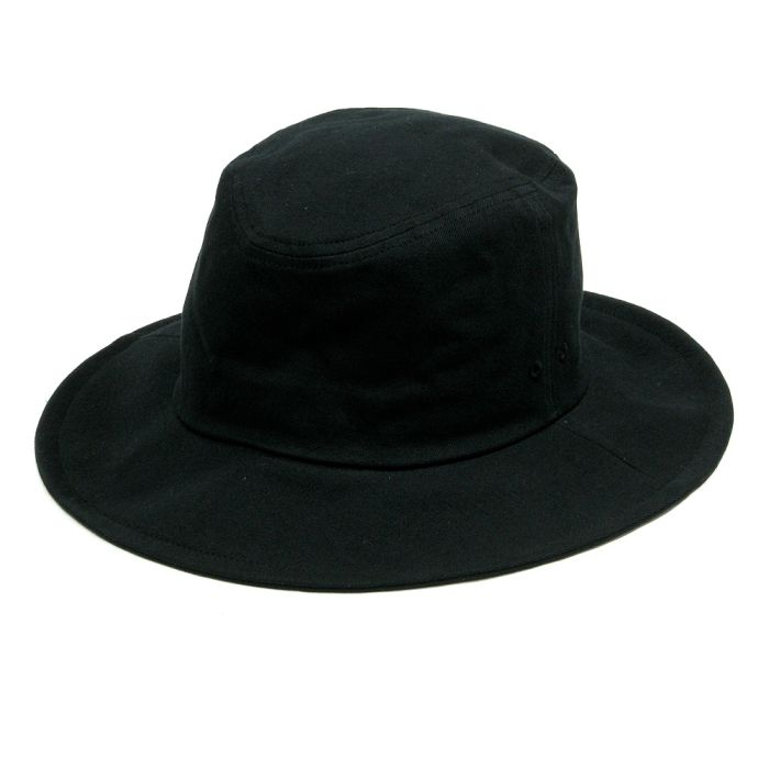 Phatee - TRAVEL HAT / BLACK TWILL画像