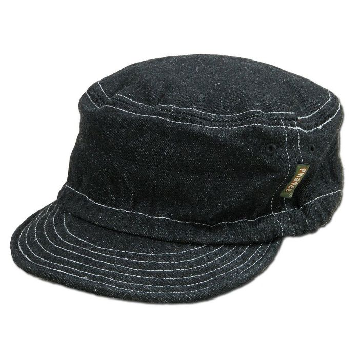 Phatee - HALF CAP / BLACK DENIM画像