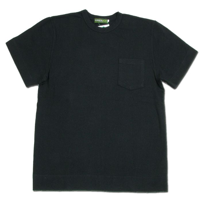 Phatee - SUPERIOR POCKET TEE / BLACK画像