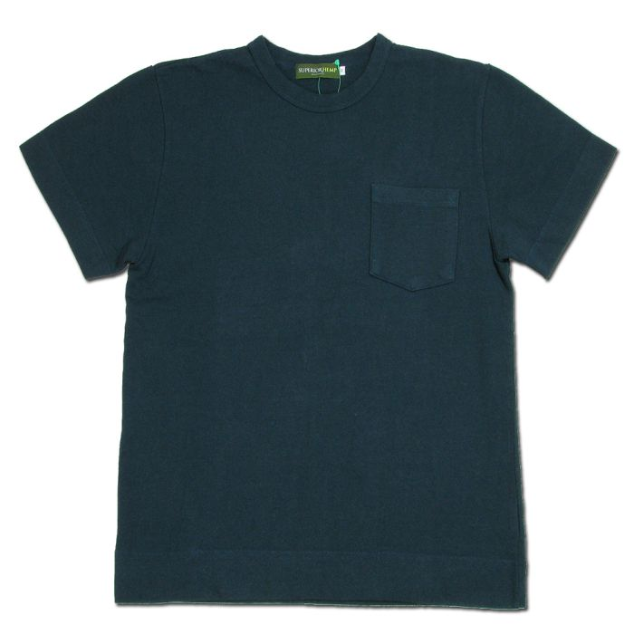 Phatee - SUPERIOR POCKET TEE / NAVY画像