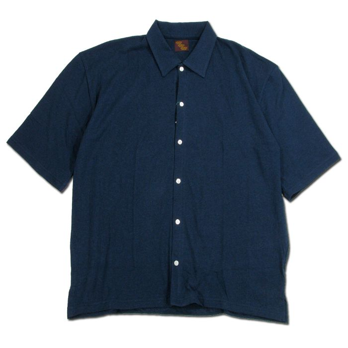 Phatee - WIDE SOFT SHIRTS / NAVY画像