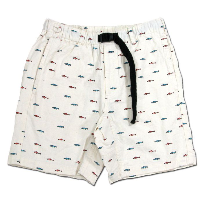 Phatee - VENUE SHORTS WIT / SMALL FISHの画像