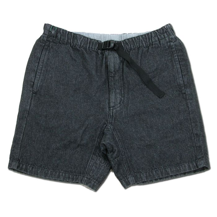Phatee - VENUE SHORTS WIT / WASHED BLACK DENIM画像