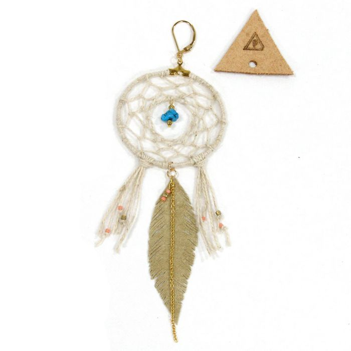 Phatee x TRIANGLE - DREAMCATCHER PIECE / NATURAL LEAFの画像