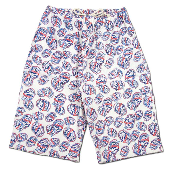 Phatee - RUG SHORTS PRINTED / BEER LABELの画像