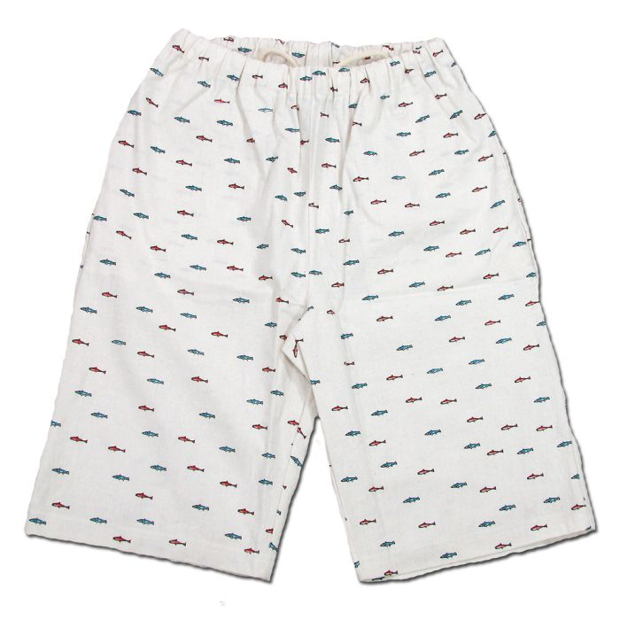 Phatee - RUG SHORTS PRINTED / SMALL FISHの画像