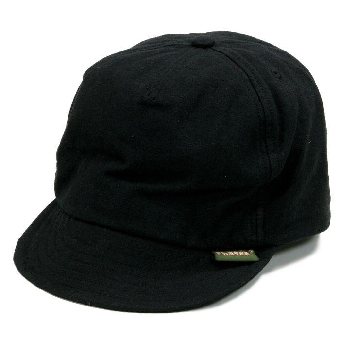 Phatee - HEMP CAP / BLACK画像