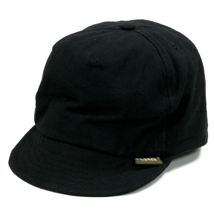 Phatee - HEMP CAP / BLACK画像