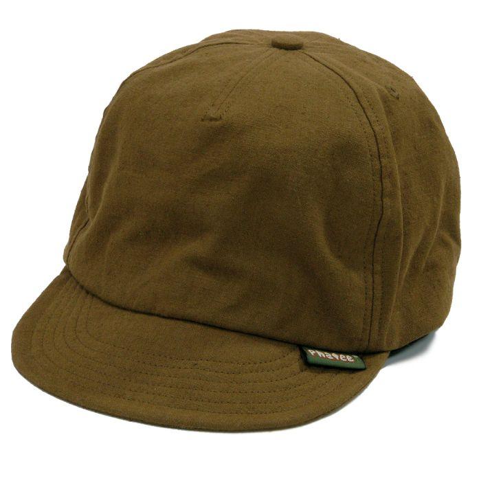 Phatee - HEMP CAP / BROWN画像