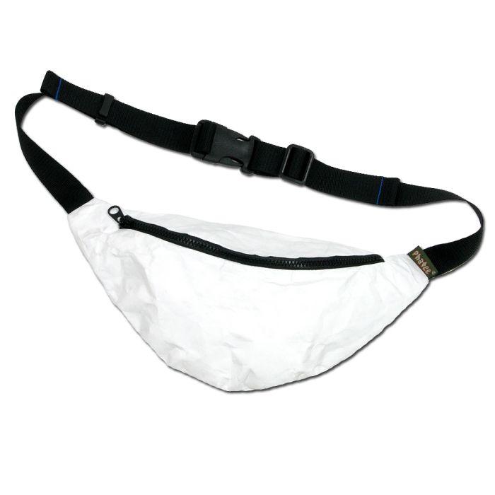 Phatee - FLEECE WAIST BAG / TYVEK WHITE画像