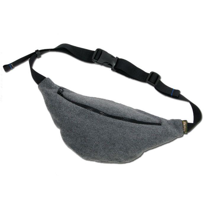 Phatee - FLEECE WAIST BAG / CHACOAL画像