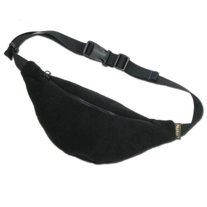 Phatee - FLEECE WAIST BAG / BLACK画像