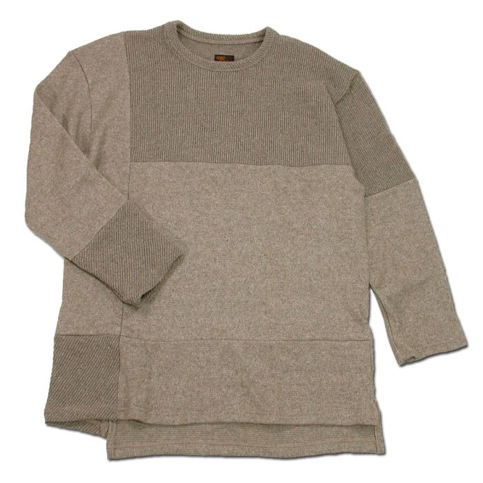 Phatee - PROGRESS SWEATER / MOCA BEIGE画像