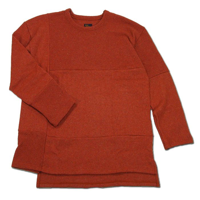 Phatee - PROGRESS SWEATER / ORANGE画像