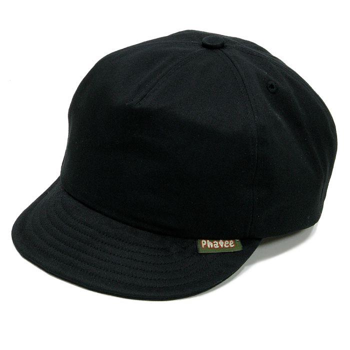 Phatee - PHAT CAP / TWILL BLACK画像