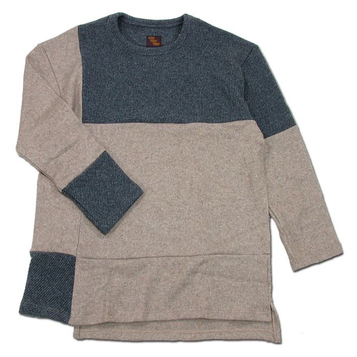Phatee - PROGRESS SWEATER / MOCA x CHARCOAL (OFFICIAL SHOP LIMITED)の画像