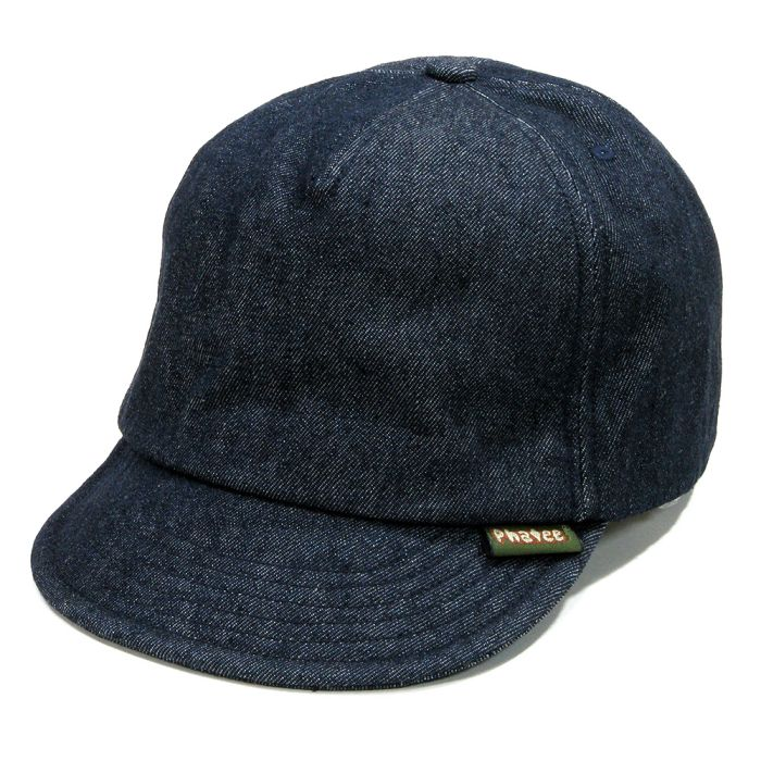 Phatee - HEMP CAP / DENIM INDIGO画像
