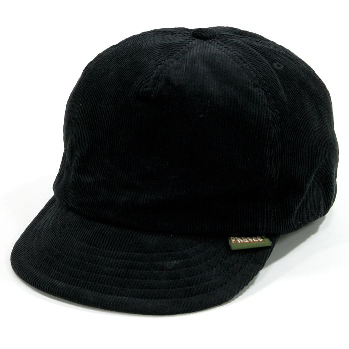 Phatee - HEMP CAP / CORD BLACK画像