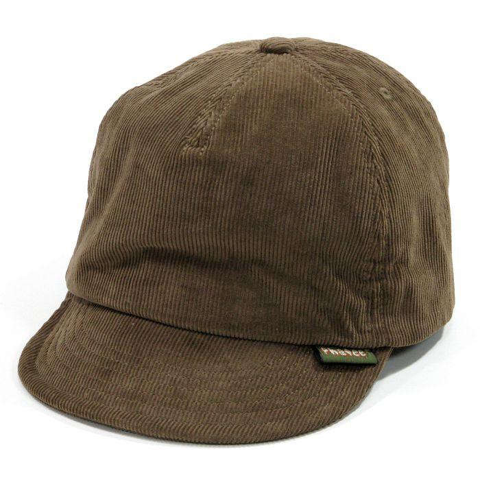 Phatee - HEMP CAP / CORD BEIGE画像