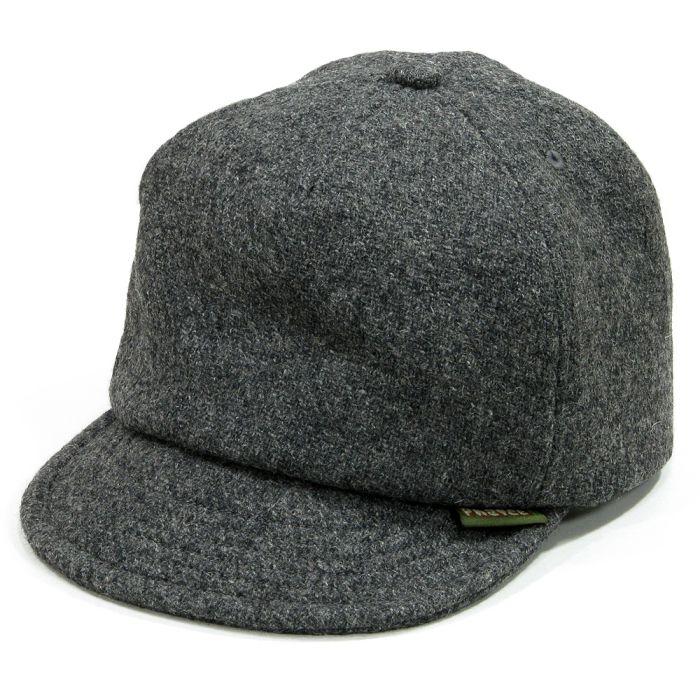 Phatee - HEMP CAP / MELTON GRAY画像