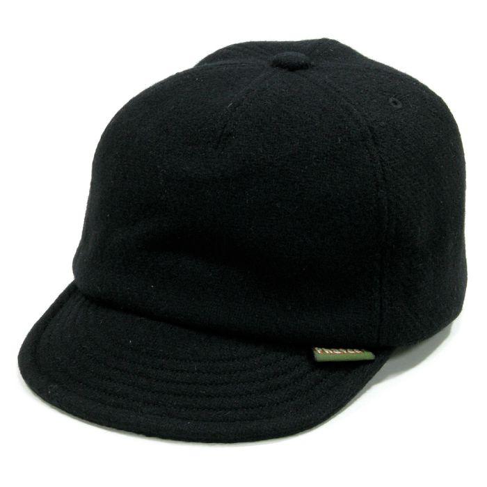 Phatee - HEMP CAP / MELTON BLACK画像