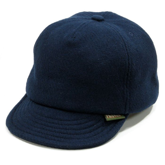 Phatee - HEMP CAP / MELTON NAVY画像