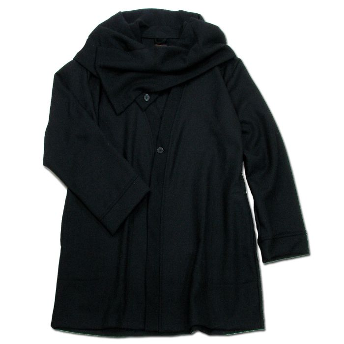 Phatee - HAPPI JACKET WOOL / BLACK画像