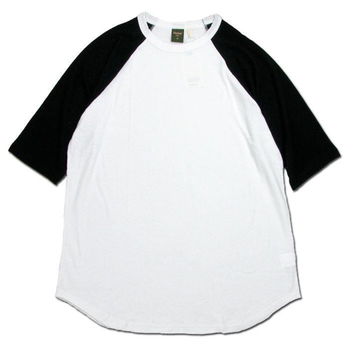 Phatee - LOOSE BALL TEE / WHITE x BLACKの画像