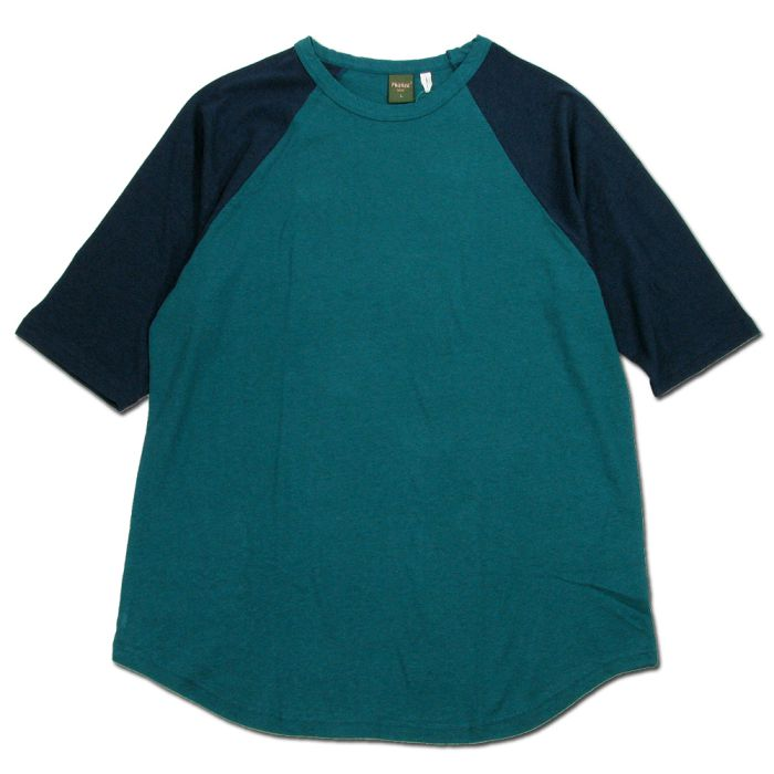 Phatee - LOOSE BALL TEE / FOREST x NAVYの画像