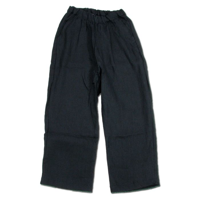 Phatee - MASSIVE PANTS LINEN / BLACKの画像