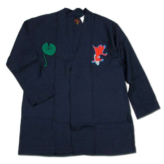 Phatee - HAPPI JACKET WAPPEN / NAVYの画像