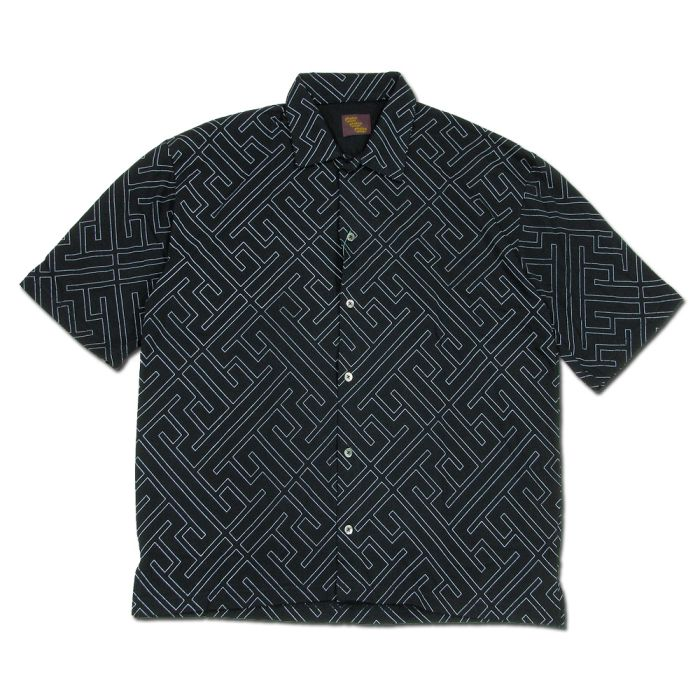 Phatee - WIDE SOFT SHIRTS / WAGARA BLACK画像