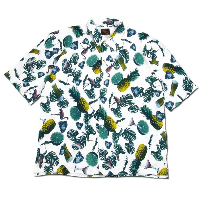 Phatee - WIDE SOFT SHIRTS HEMP / TROPICAL画像