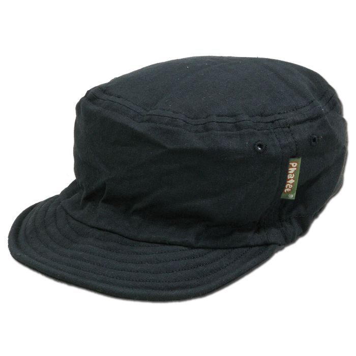 Phatee - HALF CAP / BLACK FLAT画像