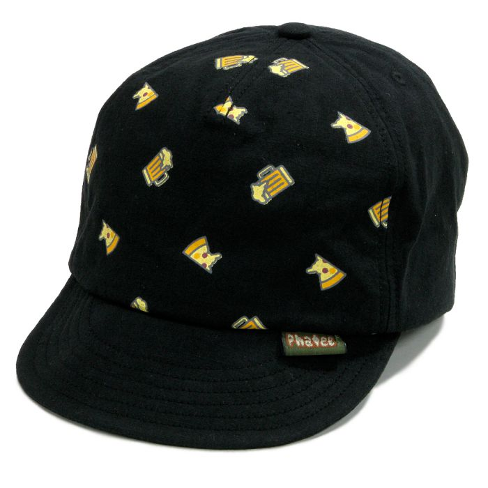 Phatee - HEMP CAP PIZZA / PIZZA BLACKの画像