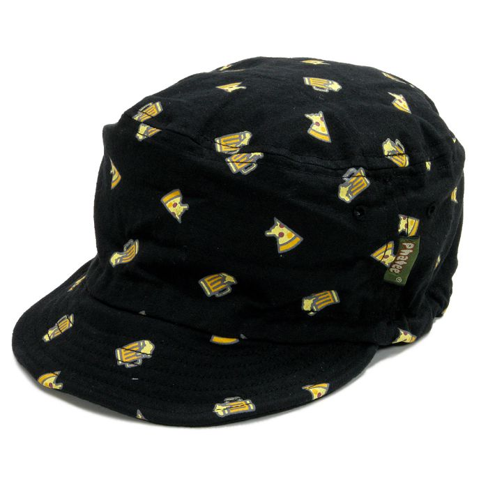 Phatee - HALF CAP / PIZZA BLACKの画像