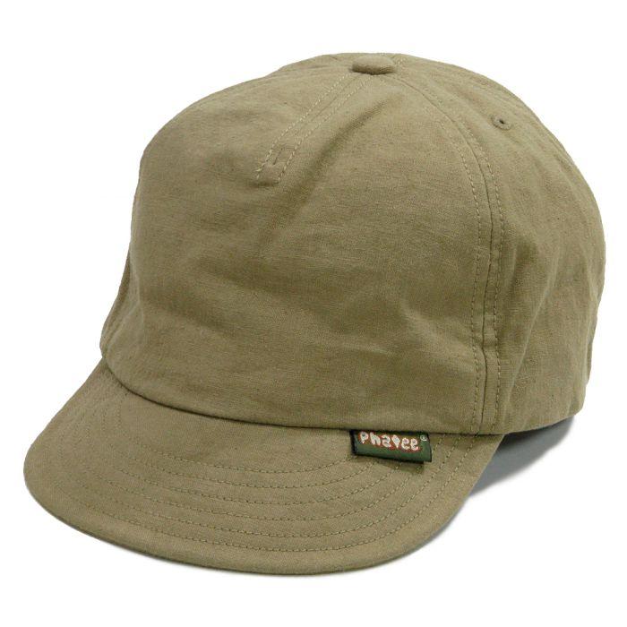 Phatee - HEMP CAP / BEIGE画像