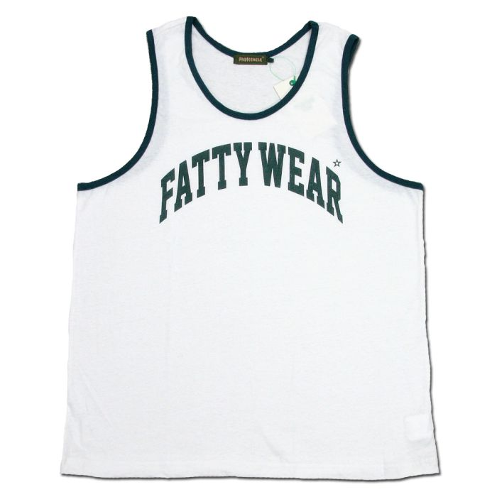 Phatee - FATTY TANK TOP / WHITEの画像