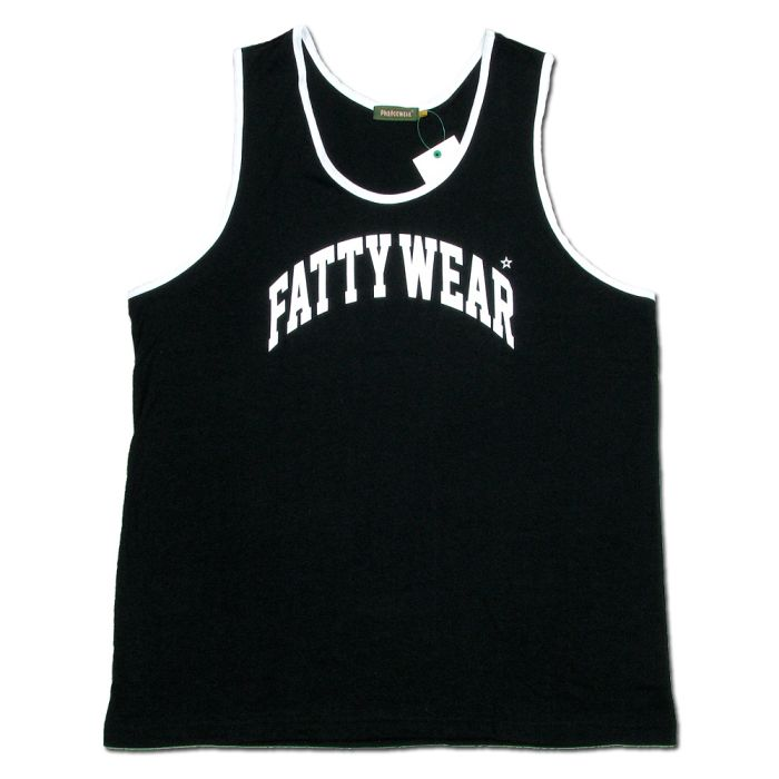 Phatee - FATTY TANK TOP / BLACKの画像