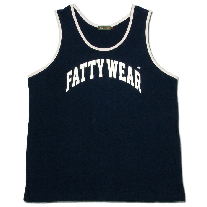 Phatee - FATTY TANK TOP / NAVYの画像